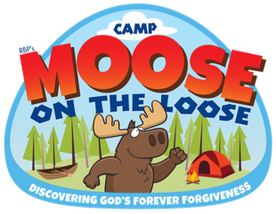RBP Camp Moose on the Loose Logo